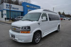2020 Chevy Express 11 Passenger - Explorer Limited X-SE VC 1GAZGNFP6L1225289 Mike Castrucci Conversion Van Land