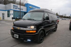 2021 Chevy Express 9 Passenger - Explorer Limited X-SE VC 1GCWGBF79M1181279 Mike Castrucci Conversion Van Land