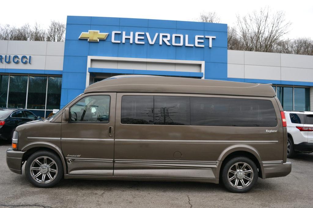 2015 Chevy Express 9 Passenger - Explorer Limited X-SE 1GBWGLCG3F1107213 Mike Castrucci Conversion Van Land