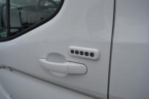 Keyless Entry Pad, 2020 AWD Ford Transit Explorer Limited X-SE VC 9 Passenger Conversion Van, Mike Castrucci Ford