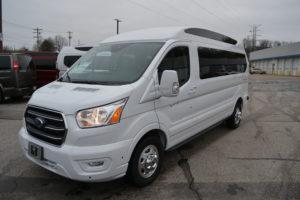 2020 Ford Transit AWD 9 Passenger Explorer Limited SE-VC 1FTYE2YG2LKB58981 Mike Castrucci Conversion Van Land