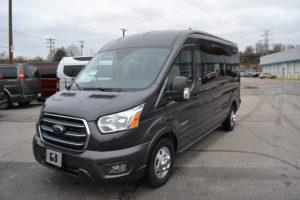 2020 Ford Transit AWD 250 MR 8 Passenger - Explorer Limited SE 1FTBR2CG6LKB62551 Mike Castrucci Conversion Van Land