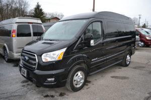 2020 AWD Ford Transit Explorer Limited SE VC 1FTYE2YG0LKA54831 Mike Casatrucci Conversion Van Land