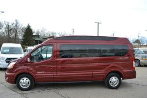 2020 Ford Transit AWD 9 Passenger Explorer Limited SE-VC 1FTYE2YG9LKB31857 Mike Castrucci Conversion Van Land