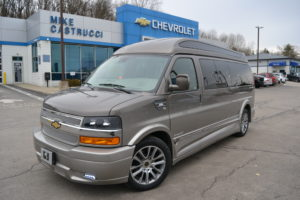 2021 Chevy Express 9 Passenger Explorer Limited X-SE VC 1GCWGBF77M1196251 Mike Castrucci Conversion Van Land
