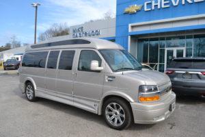 2020 Chevy Express 9 Passenger Explorer Limited X-SE VC 1GCWGBFG5L1261824 Mike Castrucci Chevrolet Conversion Van land