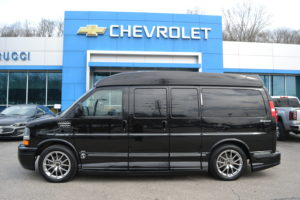 2013 Chevy Express AWD Explorer Limited X-SE 1GBSHDC47D1161957 Mike Castrucci Chevrolet Conversion Van Land