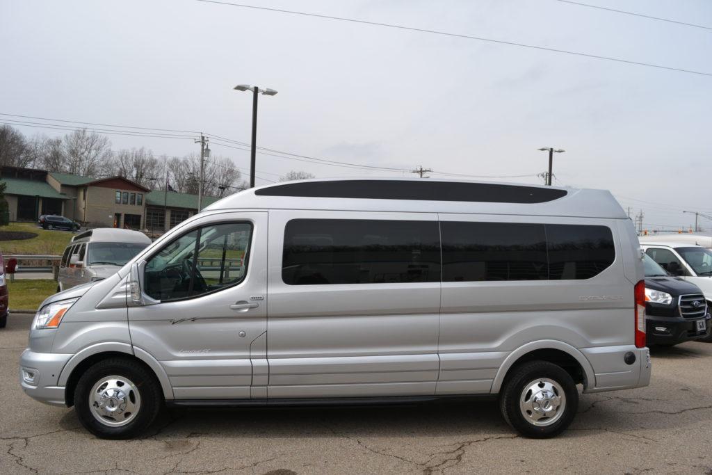 2020 Ford Transit AWD 9 Passenger Explorer Limited SE-VC 1FTYE2YG5LKB71532 Mike Castrucci Conversion Van Land