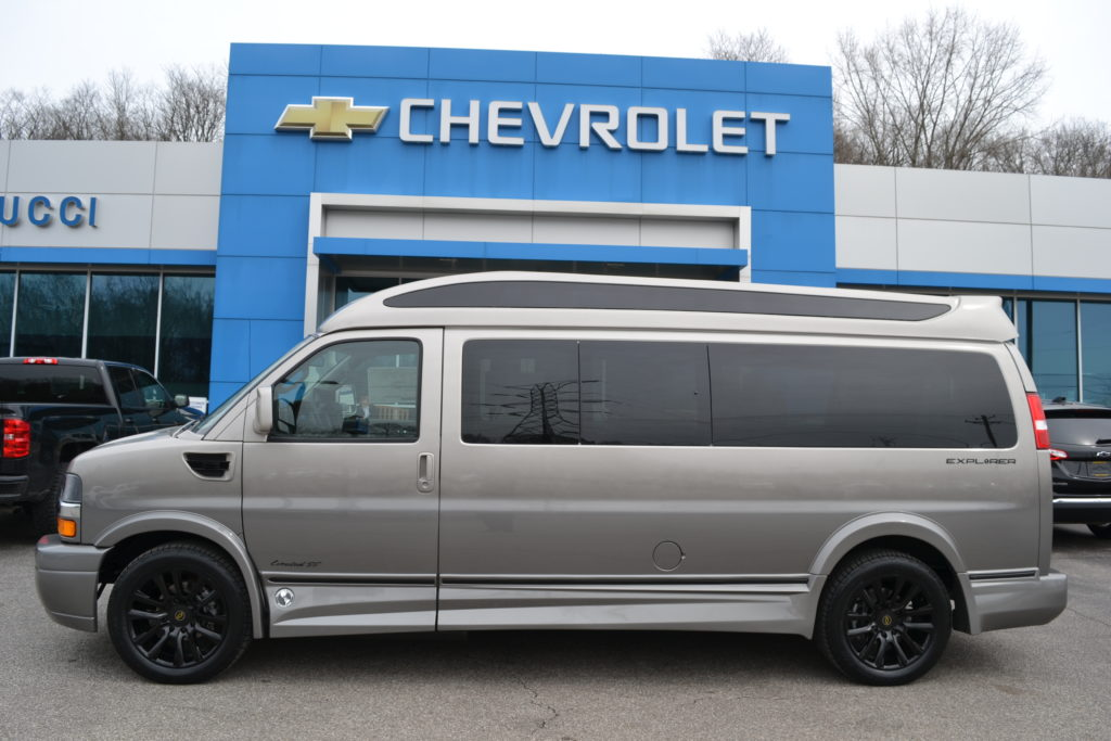 2021 Chevy Express 9 Passenger - Explorer Limited X-SE VC 1GCWGBF74M1204765 Mike Castrucci Conversion Van Land