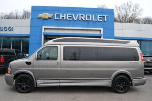 2021 Chevy Express 9 Passenger - Explorer Limited X-SE VC 1GCWGBF74M1204765 Mike Castrucci Conversion Van Land