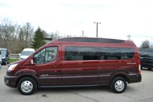 2020 Ford Transit AWD 9 Passenger Explorer Limited SE-VC 1FTYE2YG2LKB67924 Mike Castrucci Conversion Van Land