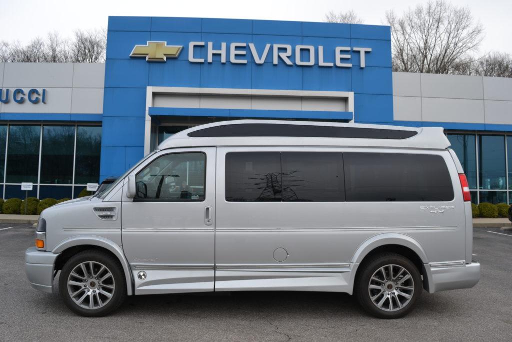 2020 4x4 Chevrolet Express Explorer limited X-SE VC 1GCWGAFG0L1257884 Mike Castrucci Conversion Van Land