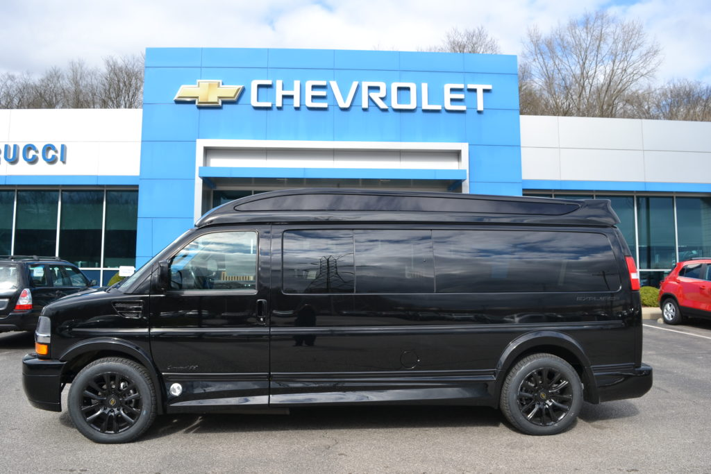 2021 Chevy Express 9 Passenger Explorer Limited X-SE VC 1GCWGBF79M1249144 Mike Castrucci Conversion Van Land