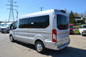 2021 AWD Ford Transit 250 MR 9 Passenger - Explorer Limited SE 1FTBR2CG1MKA34297 Mike Castrucci Conversion Van Land
