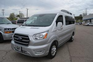 2020 Ford Transit AWD Explorer Limited SE-VC 1FTYE2YG3LKB71531 Mike Castrucci Conversion Van land