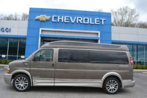 2021 Chevy Express 9 Passenger - Explorer Limited X-SE VC 1GCWGBF70M1243801 Mike Castrucci Conversion Van Land