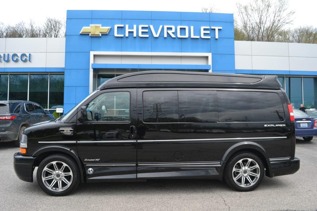 2016 Chevy Express 9 Passenger - Explorer Limited X-SE VC 1GCWGAFGXG1202736 Mike Castrucci Conversion Van Land