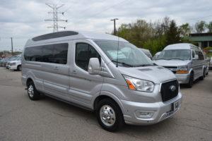 2021 Ford Transit AWD 9 Passenger Explorer Limites X-SE VC 1FTYE2YG2MKA02652 Mike Castrucci Conversion Van Land