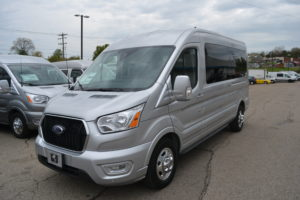 2021 Ford Transit AWD 250 MR 9 Passenger Explorer Limited SE 1FTBR2CG3MKA34298 Mike Castrucci Conversion Van Land