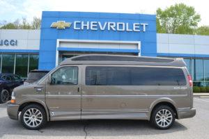 2021 Chevy Express 9 Passenger Explorer Limited X-SE VC 1GAZGNF70M1249606 Mike Castrucci Conversion Van Land
