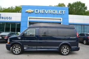 2021 Chevy Express 2500 Explorer Limited X-SE VC 1GCWGAF76M1178477 Mike Castrucci Conversion Van Land