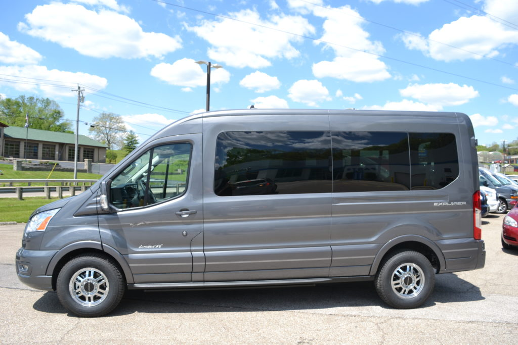 2021 Ford Transit 250 MR 9 Passenger - Explorer Limited SE 1FTBR2CG8MKA06334 Mike Castrucci Conversion Van Land