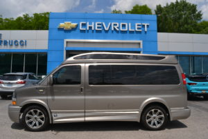 2018 Chevrolet Express Explorer Limited X-SE 1GCWGAFG3J1280296 Mike Castrucci Conversion Van Land