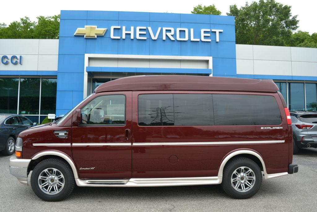 2021 Chevy Express 2500 - Explorer Limited X-SE VC 1GAWGEF75M1264928 Mike Castrucci Conversion Van Land