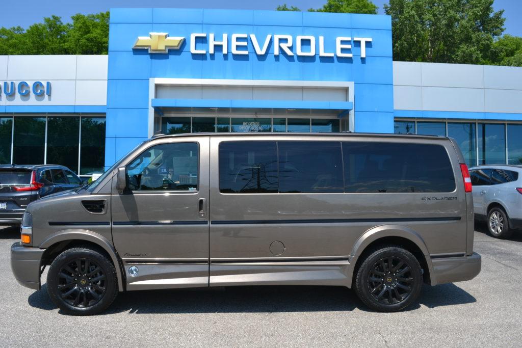 2021 Chevy Express 2500 Explorer Limited X-SE 1GCWGAF74M1249269 Mike Castrucci Conversion Van Land