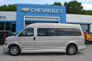 2019 Chevy Express 2500 9 Passenger - Explorer Limited SE 1GCWGBFG8K1259600 Mike Castrucci Conversion Van Land