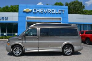 2021 Chevy Express 2500 - Explorer Limited X-SE VC 1GAWGEF79M1250708 Mike Castrucci Conversion Van Land