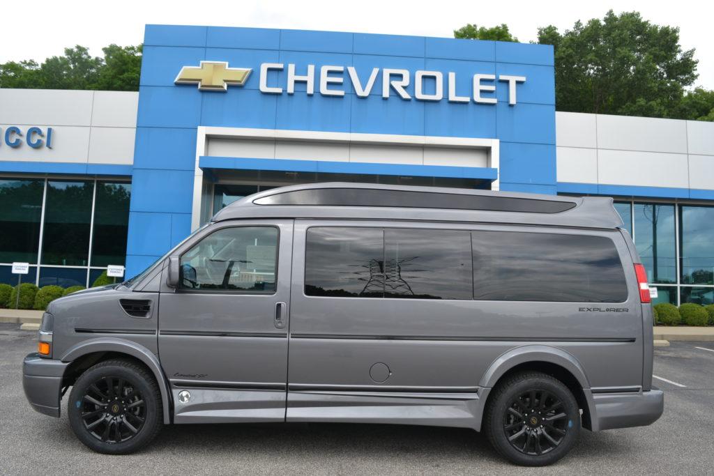 2021 Chevy Express 2500 - Explorer Limited X-SE VC 1GAWGEF77M1247421 Mike Castrucci Conversion Van Land