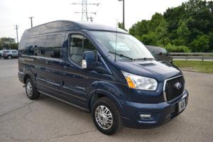 2021 Ford Transit AWD Explorer Limited SE-VC 1FTYE2YG0MKA07140 Mike Castrucci Conversion Van Land