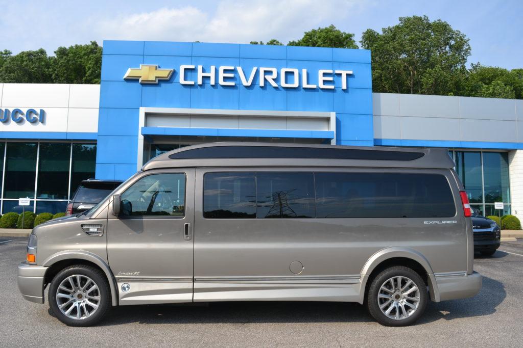 2021 Chevy Express 9 Passenger Explorer Limited X-SE VC 1GAZGNF72M1252247 Mike Castrucci Conversion van Land