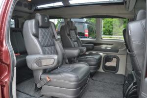 2021 Chevy Express 2500 Explorer Limited X-SE VC 1GAWGEF79M1265340 Mike Castrucci Conversion Van Land