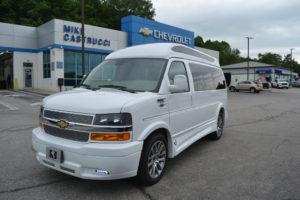 2021 Chevy Express 2500 Explorer Limited X-SE VC 1GAWGEF74M1267173 Mike Castrucci Conversion Van Land