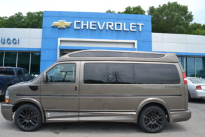 2021 Chevy Express 2500 - Explorer Limited X-SE VC 1GAWGEF77M1250044 Mike Castrucci Conversion Van Land
