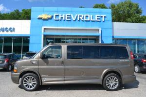 2021 Chevy Express 2500 Explorer Limited X-SE 1GCWGAFP8M1244933 Mike Castrucci Conversion Van Land