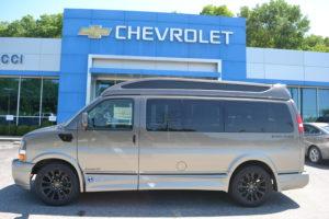 2021 Chevy Express 2500 Explorer Limited X-SE VC 1GAWGEF79M1249879 Mike Castrucci Conversion Van Land