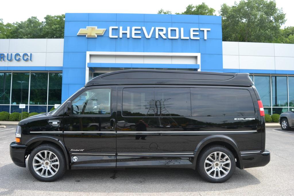 2021 Chevy Express 2500 Explorer Limited X-SE VC 1GAWGEF77M1268088 Mike Castrucci Conversion Van Land