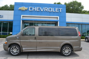 2021 Chevy Express 2500 - Explorer Limited X-SE 1GCWGAFP6M1242927 Mike Castrucci Conversion Van Land