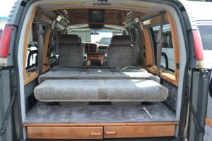 Conversion Van Land Rear Sofa-Bed
