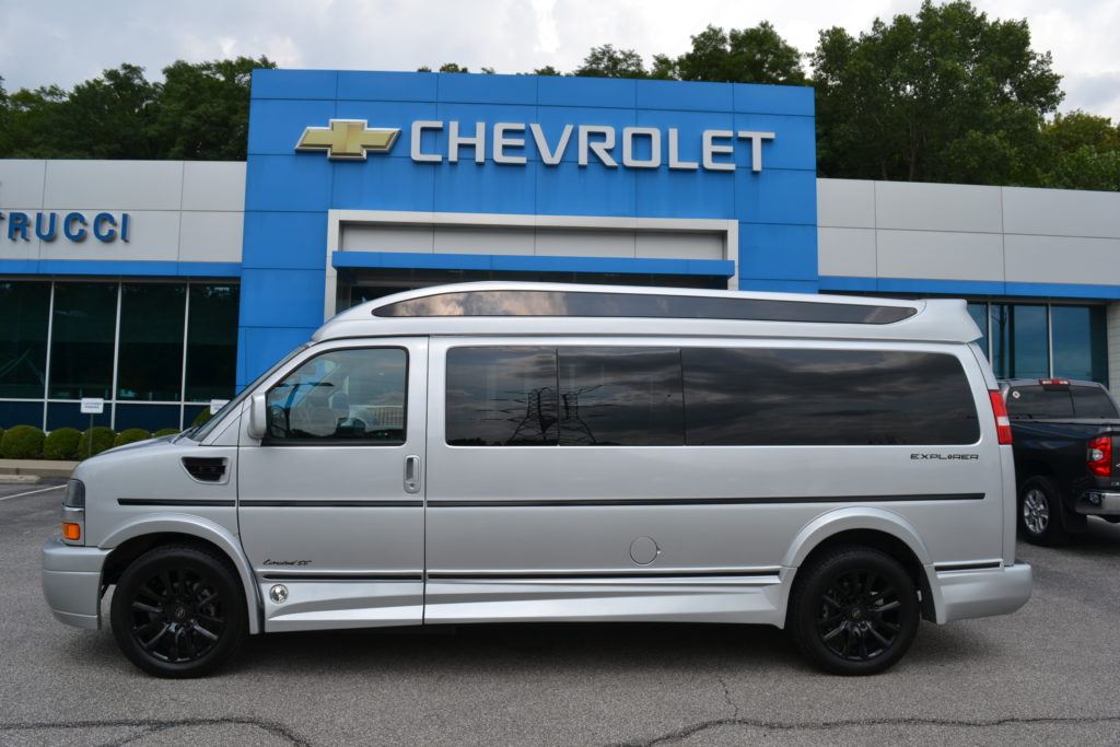2021 Chevy Express 9 Passenger - Explorer Limited X-SE VC 1GCWGBF73M1249463 Mike Castrucci Conversion Van Land