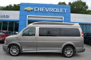 2020 Chevy Express 2500 4X4 - Explorer Limited X-SE VC 1GCWGAFG5L1178324 Mike Castrucci Conversion Van Land