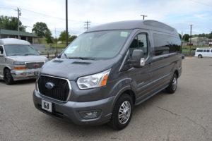 2021 Ford Transit AWD Explorer Limited SE-VC 1FTYE2YG1MKA53284 Mike Castrucci Conversion Van Land