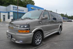 2021 Chevy Express 2500 Explorer Limited X-SE 1GCWGAF73M1179408 Mike Castrucci Conversion Van Land