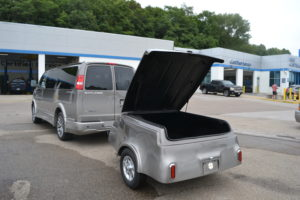Optional Cargo Trailer painted to Match $2,995