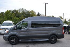 2021 Ford Transit - Explorer Limited SE 1FTYE1YG0MKA53268 Mike Castrucci Conversion Van Land