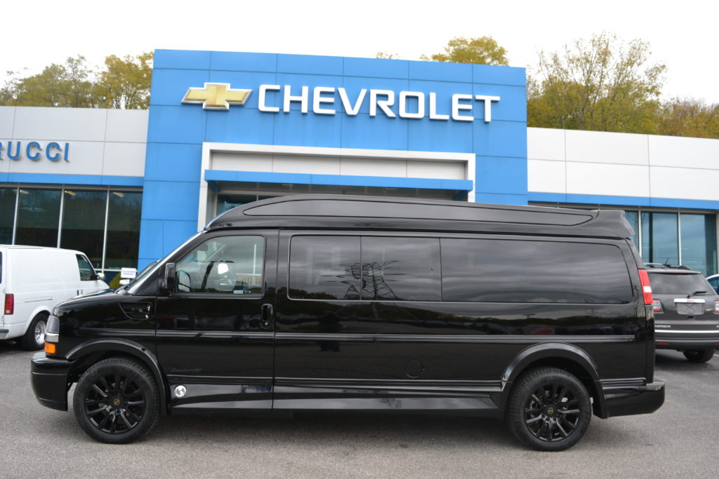 2020 Chevy Express 9 Passenger - Explorer Limited X-SE VC Sport 1GCWGBFG0L1271256 Mike Castrucci Conversion Van Land