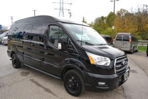 2020 Ford Transit AWD 9 Passenger Explorer Limited SE-VC 1FTYE2YG0LKB67923 Mike Castrucci Conversion Van Land